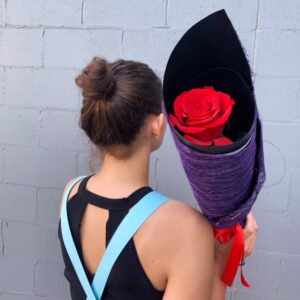 red rose by Florist Miami Queensland